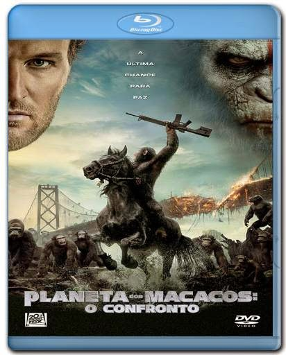 Baixar Planeta dos Macacos 2 O Confronto AVI BDRip Dual Áudio + BRRip + Bluray 720p e 1080p Torrent