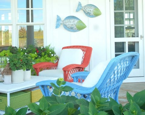 Coastal porch decorating ideas for the summer completely Cottage porch decorating ideas