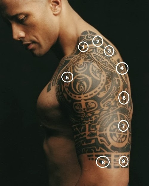 cool guy tattoos trendy