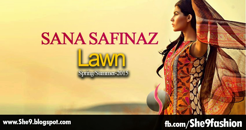 Sana Safinaz Lawn Catalog / Look-Book