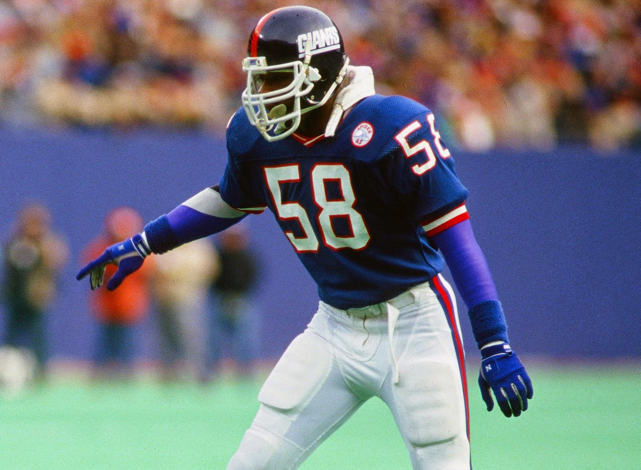 Carl Banks #58 New York Football Giants