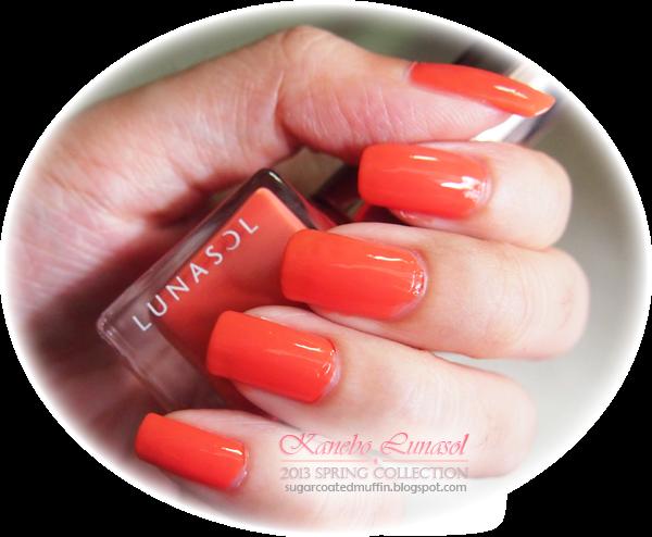 Lunasol nail polish swatch