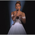 She Begins To Sing, But Pay VERY Close Attention To Her Dress As The Camera Zooms Out… WHOA!