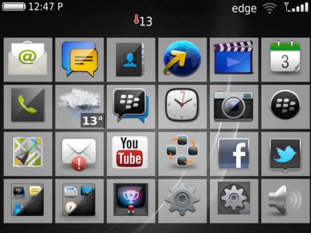 Cara Merubah Tampilan Icon Blackberry Anda Menjadi Blackberry 10