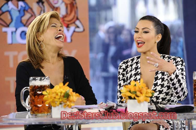 Kim Kardashian On The Today Show Photos