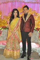 Celebraties at Actor Bharat n Jessy Wedding Reception Photos+%252818%2529 Actor Bharath n Jessy Wedding Photos