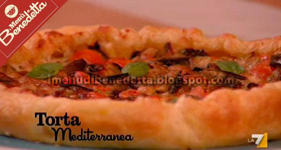 Torta mediterranea la ricetta di benedetta parodi for Mozzarella in carrozza parodi