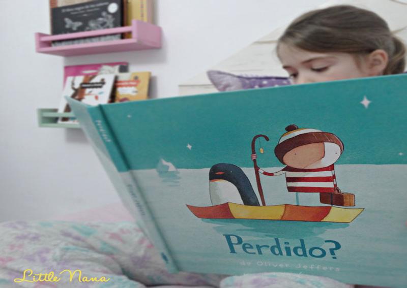 Hoy leemos perdido Oliver Jeffers cuento infantil para niños