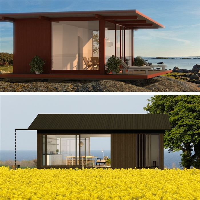 Arquitectura arkinetia blog ideas para casas peque as for Casas prefabricadas pequenas
