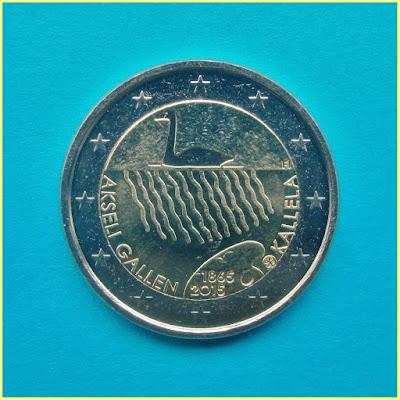 2 Euros Finlandia 2015 Akseli Gallen Kallela