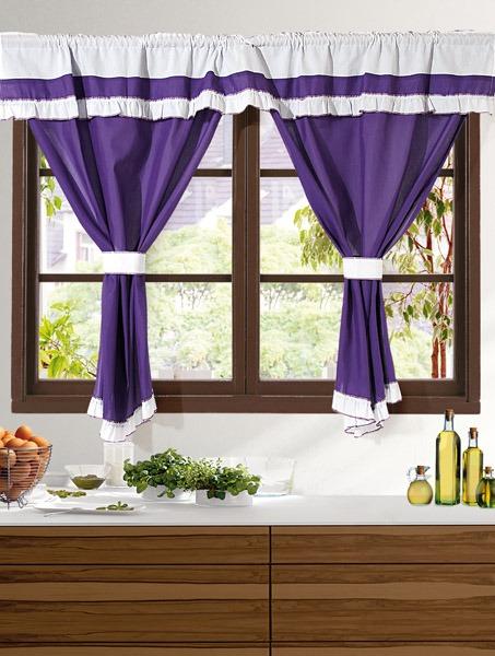 cortinas para cocina en tela gross