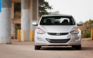 Hyundai elantra car 2012 front view - صور سيارة هيونداى النترا 2012 من الخارج
