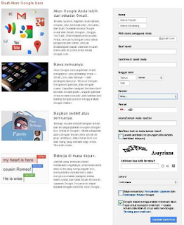 pendaftaran gmail