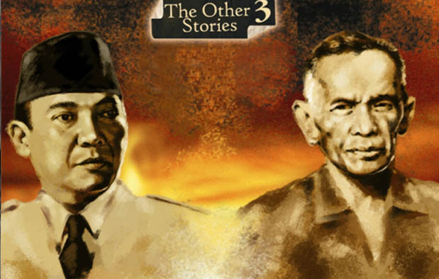 Nyi Roro Kidul dan Soekarno vs Kartosuwiryo dan Dewi Lanjar