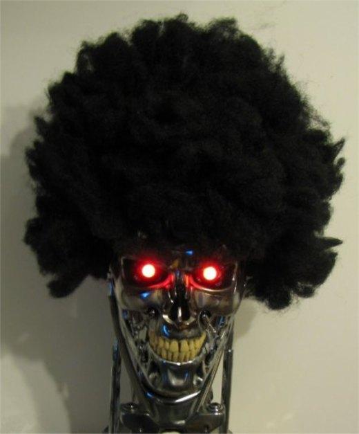 Terminator Afro Hair por jkno4u
