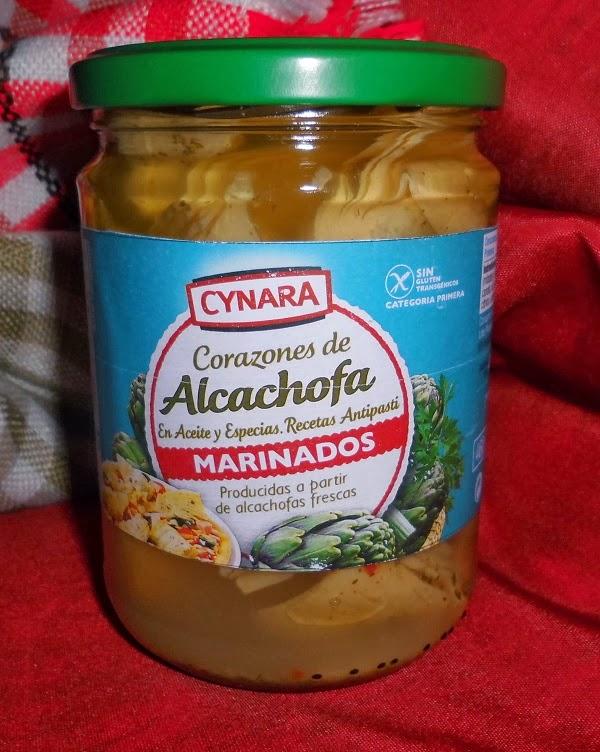 Corazones de Alcachofa Marinados
