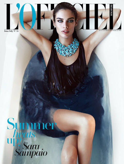 Fashion Model @ Sara Sampaio - LOfficiel Singapore, May 2015