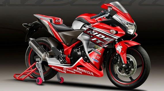 Modifikasi Fairing Honda CBR 250 Terbaru 2014
