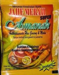 Toko Herbal Lampung Jahe merah