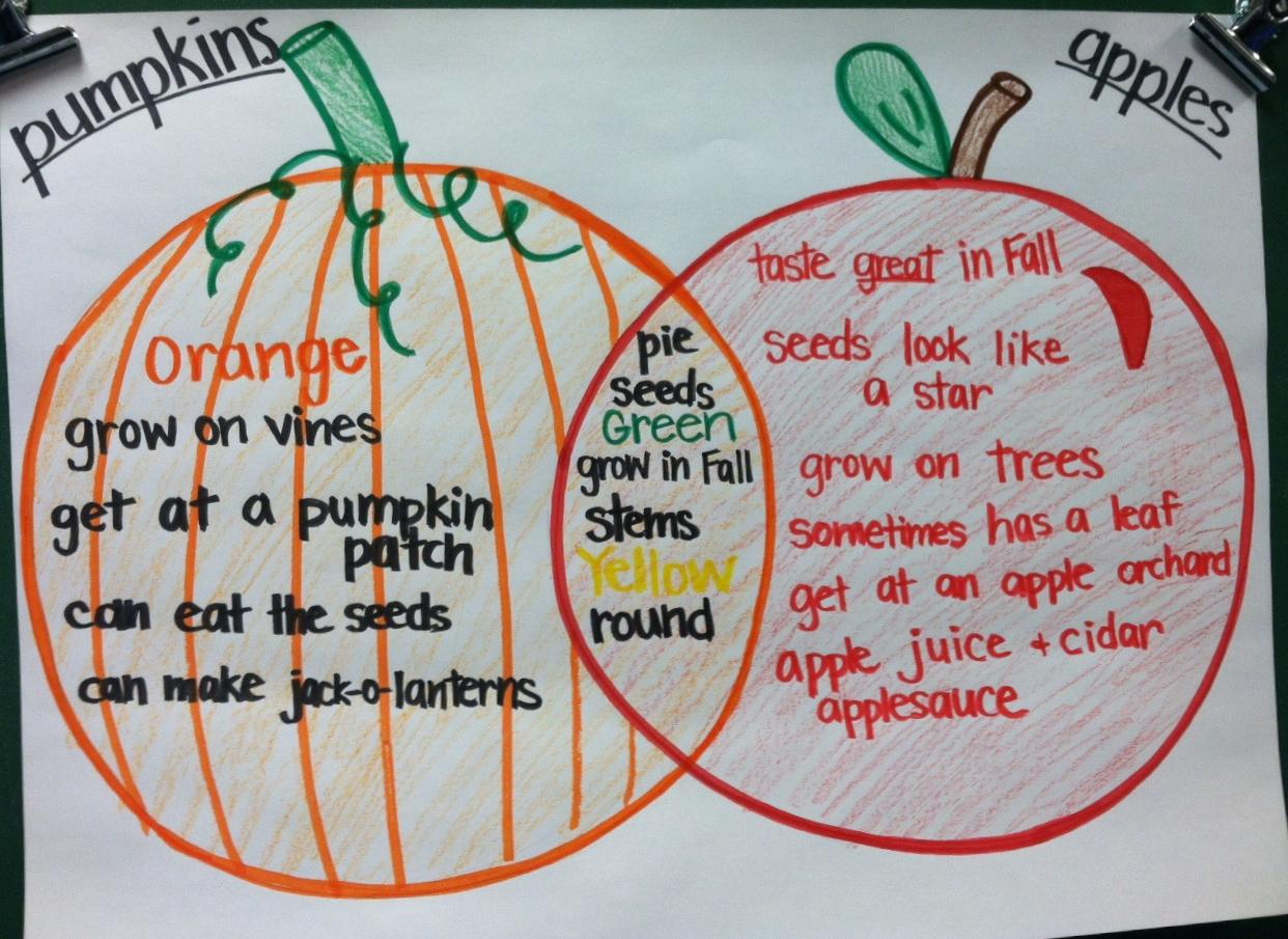 Kinder Corner  Apples And Pumpkins