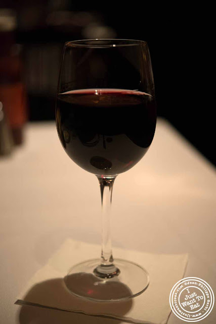 Image of Pinot noir at Empire Steakhouse in NYC, New York