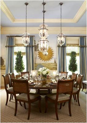 french country dining room design ideas - Country Dining Rooms