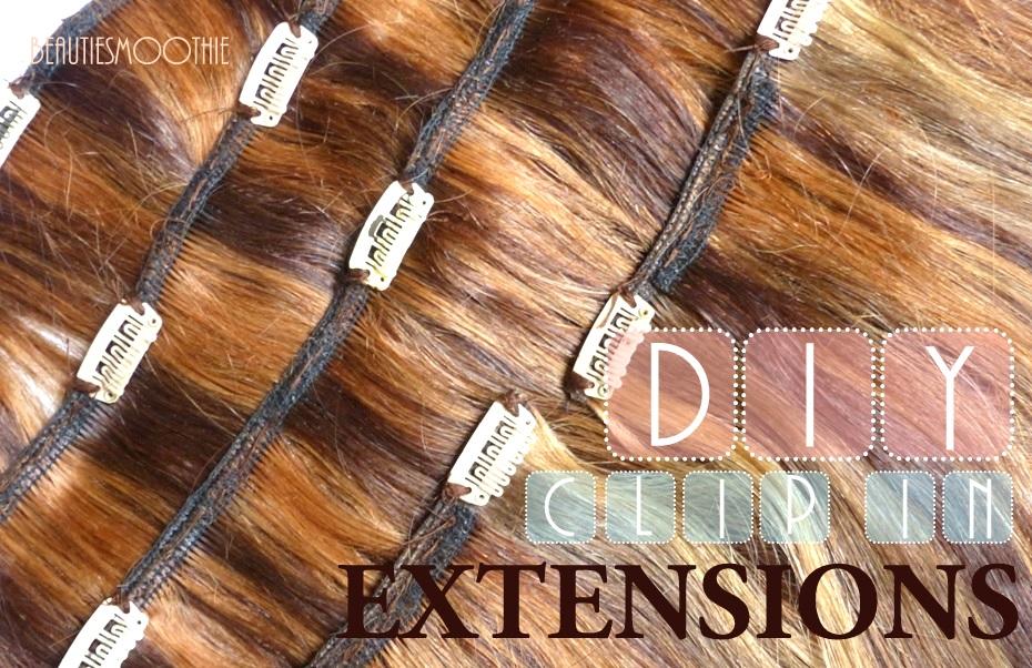 Beautiesmoothie Diy Clip In Extensions