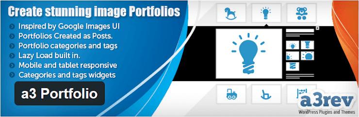 a3 Portfolio plugin