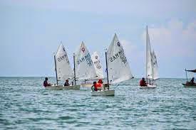 perahu layar sukan asia