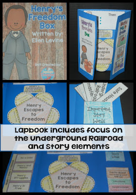 "Use this lapbook to learn more about the Underground Railroad and about Henry ""Box"" Brown."
