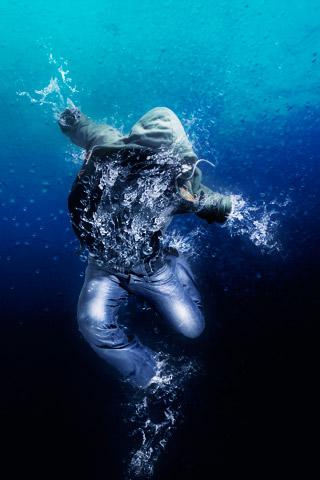 Water Dance HD Iphone Wallpaper