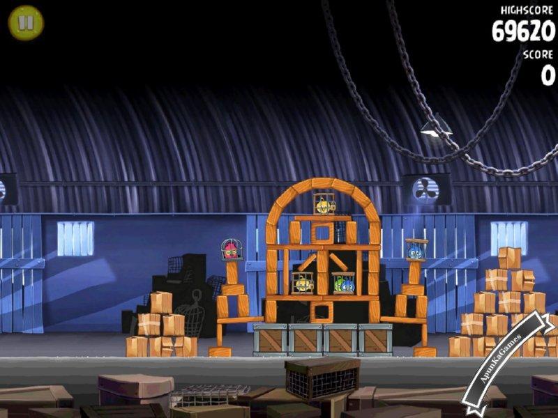 Angry Birds Rio Screenshots