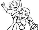 Truyện cười: Con giống cha