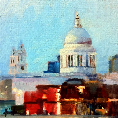 St.Paul's II by Liza Hirst