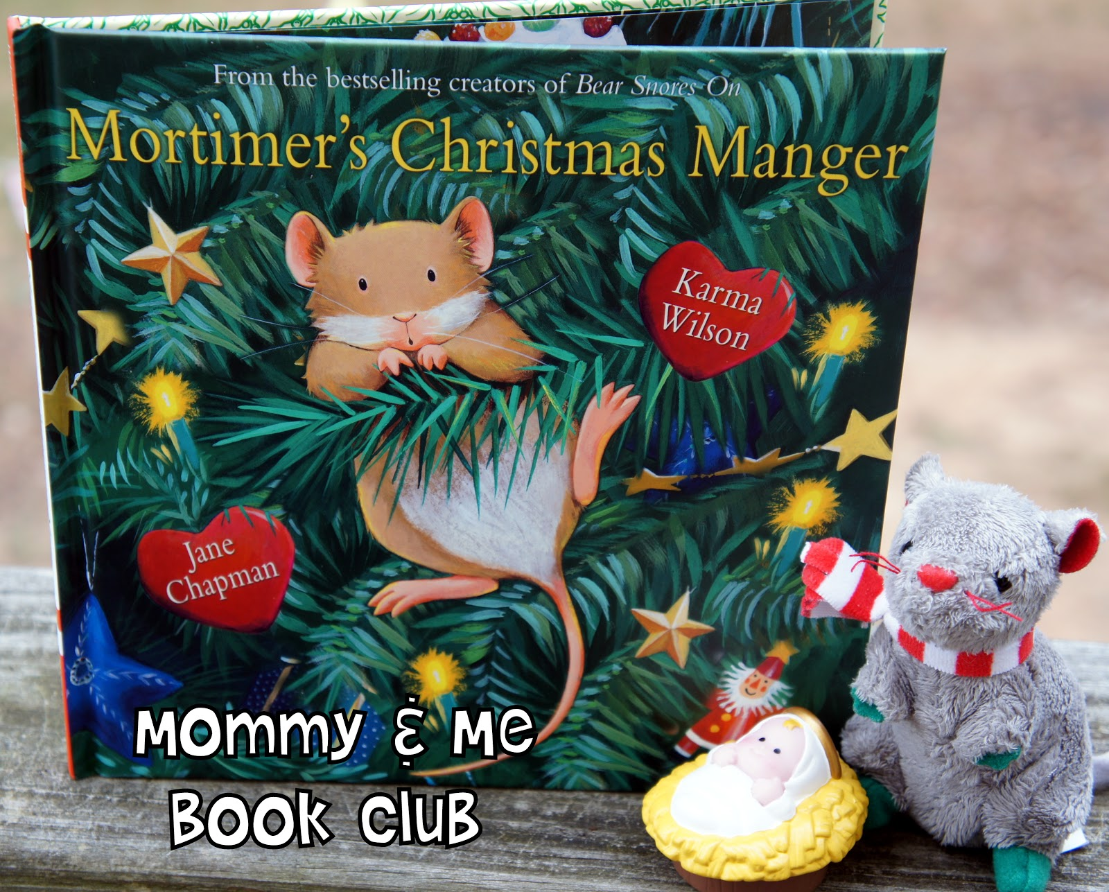 Book Club Christmas Party Ideas Part - 28: Mortimeru0027s Christmas Manger