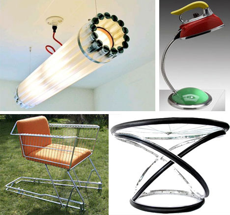 Home improvement ideas furniture recycling 2012 for Creative recycling projects