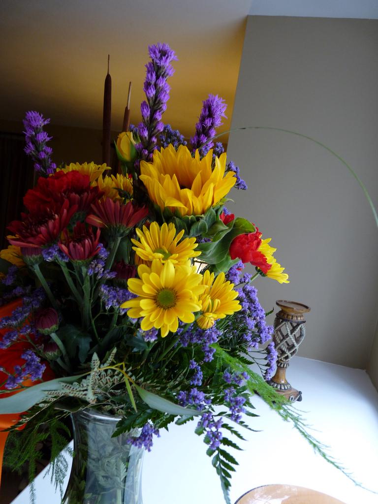 Цветочные композиции сделанные своими руками фото 916