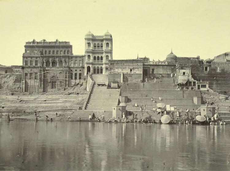 Kedar Ghat - Benares (Varanasi) 1905