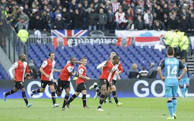 Feyenoord Rotterdam 2 - 0 PSV Eindhoven (1)