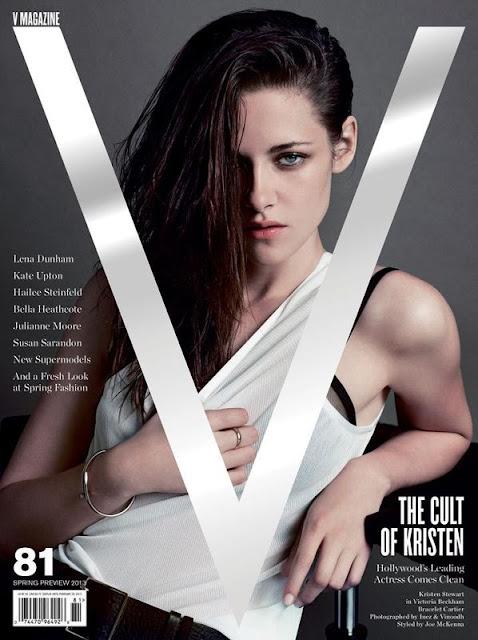 Kristen Stewart in V Magazine #81 by Inez & Vinoodh