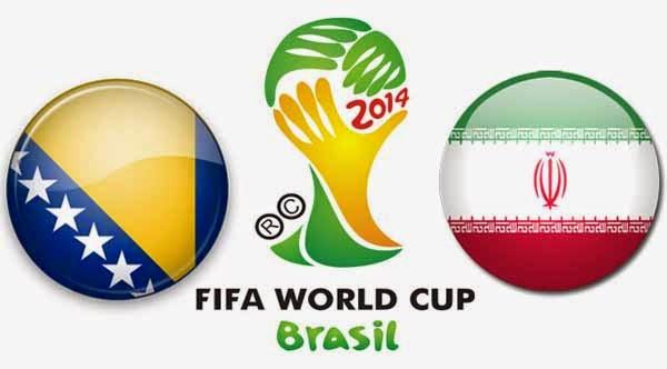 Bosnia-Herz. 3 - 1 Irán. Grupo F