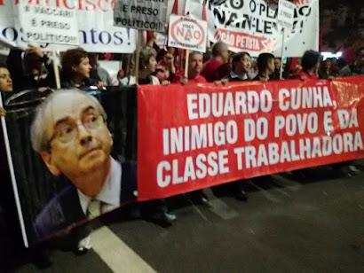 'Eduardo Cunha tenta jogar o país no incêndio para salvar a própria pele e escapar da cassação'