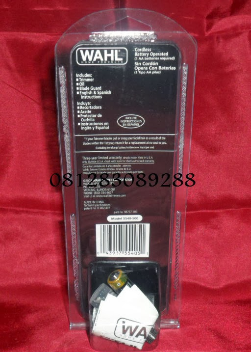 Wahl Detailing Batery Trimmer