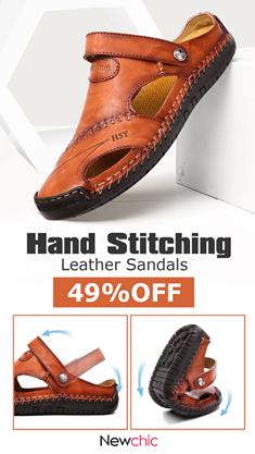 Newchic men sandals online
