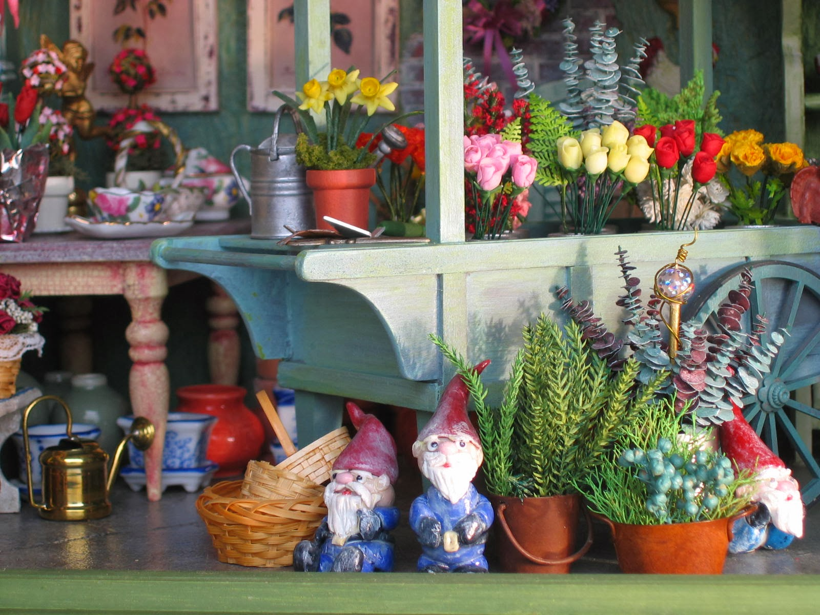 dollhouse flower shop