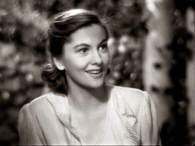 HVB vintage wedding blog - Remembering Joan Fontaine, still from REBECCA