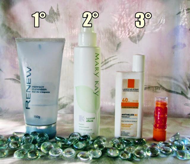 produtos para pele