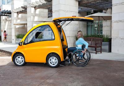 Kenguru: Ένα αυτοκίνητο σχεδιασμένο για ανθρώπους με κινητικές δυσκολίες