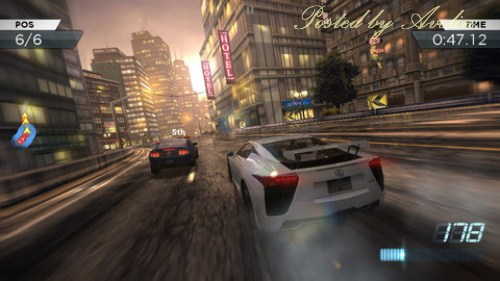 Need For Speed Most Wanted 100 IOS game 2