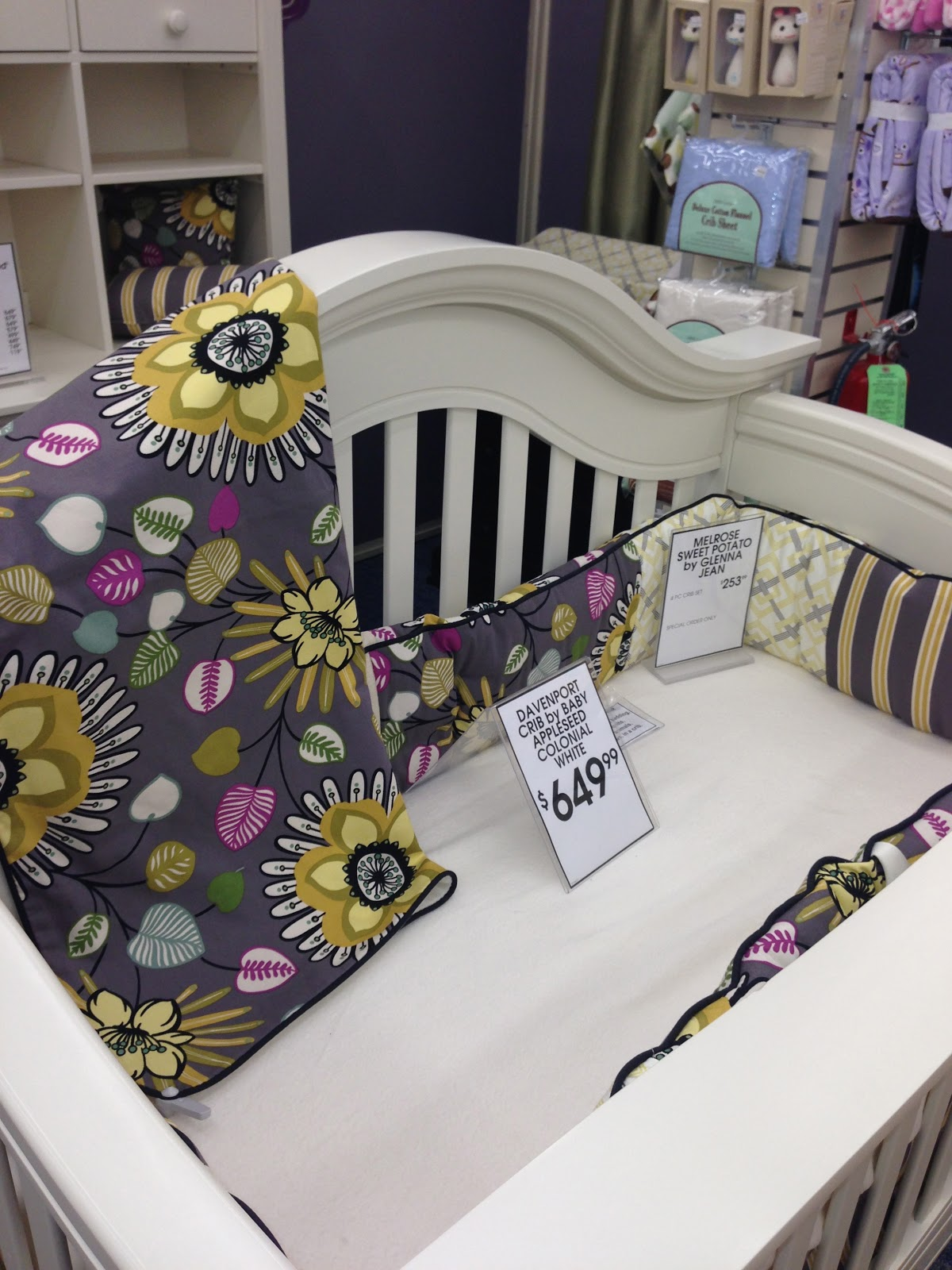 Baby cribs buy buy baby - Funny Enough At Buy Buy Baby This Is The Exact Crib Set And Bedding That We Chose